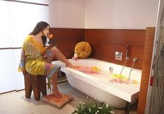 Mehr erfahren zum Ruhepol im Bonner Villenviertel Bad Honnef, Designer, Bathtub, Bathroom, Material, Bath Tube, Full Bath, Collection, Bathing