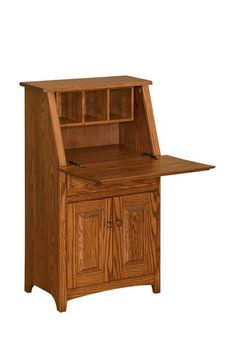 Amish Shaker Mini Secretary Desk Fit In A Stylish Work E With The