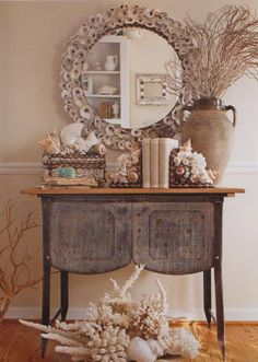 I have a table just like this ... gets me thinking ...