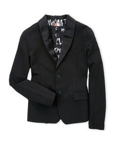 Msgm (Boys 8-20) Two-Button Blazer