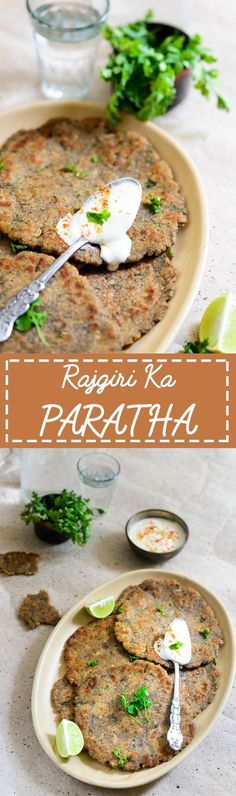 Rajgira Paratha are made from wholesome and nutritious rajgira stuffed with mildly spiced mashed potatoes. It is gluten free and high on protein. Healthy Indian Recipes, Healthy Bread Recipes, North Indian Recipes, New Recipes, Vegetarian Recipes, Cooking Recipes, Fast Recipes, Food Galaxy, Artisan Bread Recipes