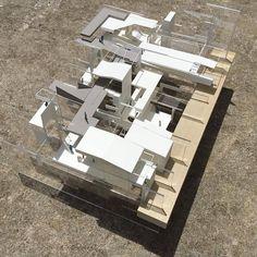 Concept Models Architecture, Floating Architecture, Architecture Model Making, Cultural Architecture, Architecture Details, Cgi, Urban Concept, Arch Model, Parametric Design