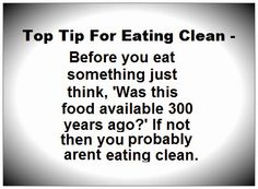 Eating Clean Tip - #health #nutrition #fitness #weight