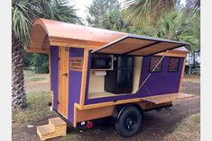 Our Popular Gypsy Wagon Campers – Trekker Trailers