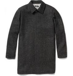 A.P.C. Harris Slim-Fit Wool Tweed Overcoat   MR PORTER. ** Absolute favorite piece.