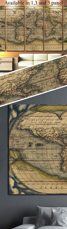 Detailed world map 112 office walls wall decorations and walls gumiabroncs Gallery