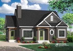 House plan W3116 detail from DrummondHousePlans.com