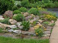 rock garden   Garden Paths   Pinterest