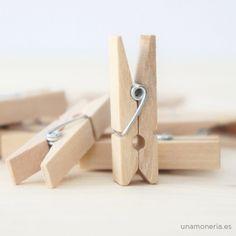 Pincitas de madera
