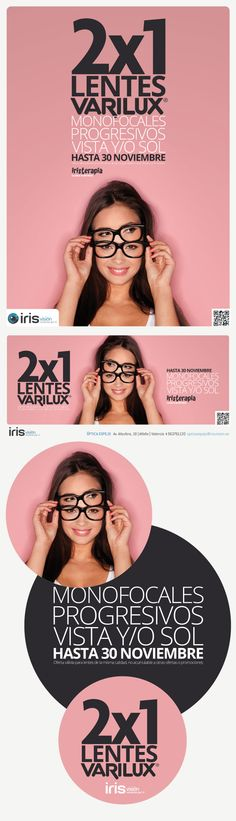 Campaña VARILUX Iris Visión
