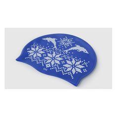 Cuffia da nuoto con motivi invernali. Materiale: silicone. Taglia: unica. Colore: blu. Spedizione: 4,90€ per tutti i prodotti che vuoi!