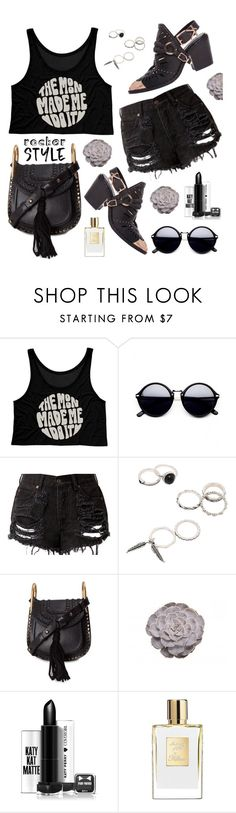 """""""Untitled #2867"""" by deeyanago ❤ liked on Polyvore featuring Chloé, rockerchic and rockerstyle"""
