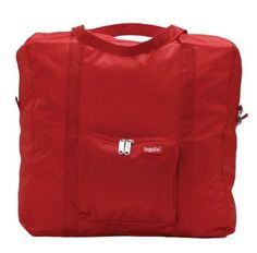 Baggallini Luggage Zipout Shopping Bag, Red, One Size,$34.95