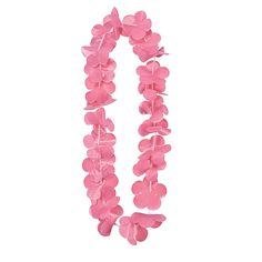 Light Pink Flower Leis - OrientalTrading.com