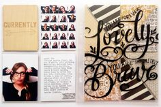 Project Life: April Five - Currently | the single girl's scrapbook // Love the selfie collage (screenshot of camera roll)