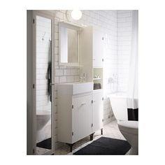 SILVERÅN / LILLÅNGEN Mobile per lavabo con 2 ante  - IKEA