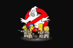 The Simpson's Homer Busters ghostbusters thesimpsons Homer Simpson, The Simpsons, Image Simpson, Cartoon Art, Cartoon Characters, Morbider Humor, Nerd Humor, Los Simsons, Disney Drawings