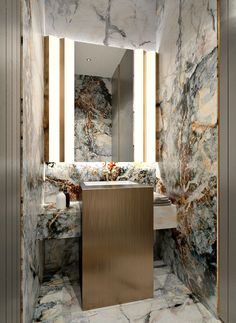 Bathroom decor for the bathroom remodel. Discover master bathroom organization, bathroom decor ideas, bathroom tile suggestions, bathroom paint colors, and much more. Mirror Inspiration, Bad Inspiration, Bathroom Inspiration, Bathroom Ideas, Restroom Ideas, Salon Interior Design, Bathroom Interior Design, Interior And Exterior, Marble Interior