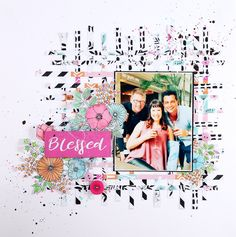 Another quick layout using the Kaisercraft Blessed range of papers. I used metallic watercolour paint to colour my flowers - it adds a beautiful shimmer to the flowers with stunning end results. #kaisercraft #shimmer #watercolourpainting #painting #jowilnanolte #blessed #scrapbooking #singlepage