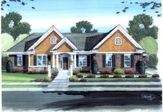 House Plan 98610 | Colonial Traditional Plan with 2553 Sq. Ft., 3 Bedrooms, 3 Bathrooms, 2 Car Garage at family home plans