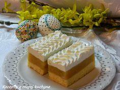 Naše obľúbené jablkové rezy, tento rok ich máme ako sviatočný Veľkonočný zákusok ku káve... Cheese, Cooking, Cake, Desserts, Food, Cucina, Pie Cake, Tailgate Desserts, Pie