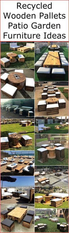 There is not any wooden product that can be called more beautiful when it comes to designpallet patio furniture ideas with the smart and dramatical arrangement of old shipping pallets in it. These different designs of patio furniture plans are specially designed to provide you something exceptional and appealing for your garden area at low prices.  #pallets #woodpallet #palletfurniture #palletproject #palletideas #recycle #recycledpallet #reclaimed #repurposed #reused #restore #upcycle #diy