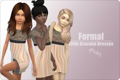 Little Graceful Dresses at xMisakix Sims via Sims 4 Updates  Check more at…
