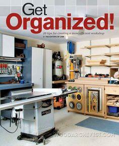 20 Tips for Creating a More Efficient Workshop - Workshop Solutions Plans, Tips and Tricks | WoodArchivist.com