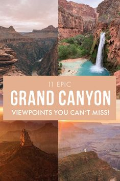 11 Epic Grand Canyon Viewpoints You Can't Miss Visiting The Grand Canyon, Trip To Grand Canyon, Grand Canyon Resorts, Grand Canyon Hiking, National Parks Usa, Grand Canyon National Park, Solo Travel, Travel Usa, Places To Travel