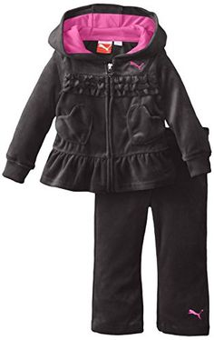 PUMA Baby-Girls Infant Ruffle and Heart Set, Black, 12 Months PUMA http://www.amazon.com/dp/B00M7DE8EM/ref=cm_sw_r_pi_dp_uX5Gub089FYYH