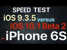 iOS 10.1 beta 2 vs iOS 9.3.5 - comparatia performantelor | iDevice.ro