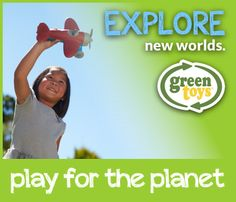 """Imagine that when a child plays, they Play For The Planet. Green Toys believes in """"Open-Play,"""" imaginative, curious, fun-time for children. Green Toys meticulously designs toys using 100% recycled material, ensuring that every toy is earth-friendly. You can be assured that your child's toy is safe, fun and better for the planet.  #playfortheplanet"""