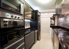 cozinha preto e bronze - Pesquisa Google