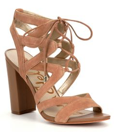 Shop for Sam Edelman Yardley Suede Block Heel Ghillie Sandals at Dillards.com. Visit Dillards.com to find clothing, accessories, shoes, cosmetics & more. The Style of Your Life.