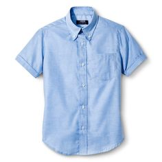 French Toast Boys' Oxford Shirt - Light Blue 18
