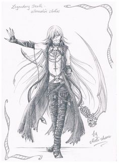 Legendary Death - alternative clothes by UchihaMali-chan.deviantart.com on @deviantART