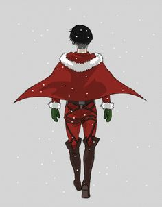 snk christmas - Levi