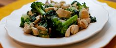 Ginger Lemongrass Chicken with Broccoli and Bok Choy #justeatrealfood #healyourkitchen