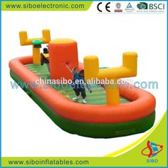 GMIF-6426 Sibo gigante inflable bungee run juego para adultos-imagen-Hamaca…