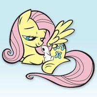 My Little Pony Flusttershy Boyama Kitabi Boyama Flusttershy