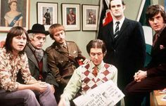 And now for something completely different! A great poster of the guys from Monty Python: Michael Palin, John Cleese, Eric Idle, Graham Chapman, Terry Jones, and Terry Gilliam. Ships fast. 11x17 inche