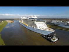 Royal Caribbean International officially took delivery of its 23rd ship, Anthem of the Seas. Description from article.wn.com. I searched for this on bing.com/images