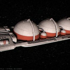 The Atlus One Tanker ship from Hyperventila: The Game Space Captain, Tanker Ship, Games, Gaming, Toys, Game, Spelling
