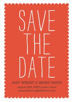 Big - save the date - tango designed by Simple te Design  on Celebrations.com