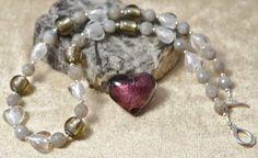 Murano Glass & Labradorite Necklace £37.65
