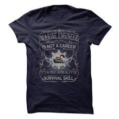 Marine Engineer Is Not A Career T Shirt, Hoodie, Sweatshirt