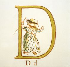 Kate Greenaway's Alphabet, 1885