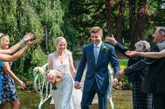 Bride and Groom from a Fun-Filled Spring Wedding at Preston Court | Photography by http://www.redonblonde.com/