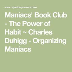 Maniacs' Book Club -