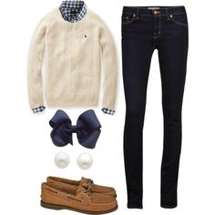 """Classic winter outfit"" by stars-stripes-andchevron on Polyvore"